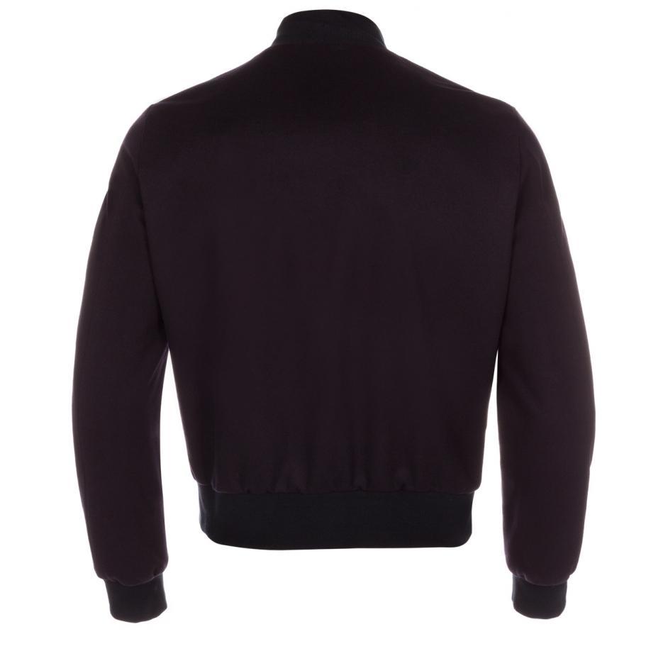 Paul Smith Men's Navy Wool-cashmere Bomber Jacket in Blue for Men