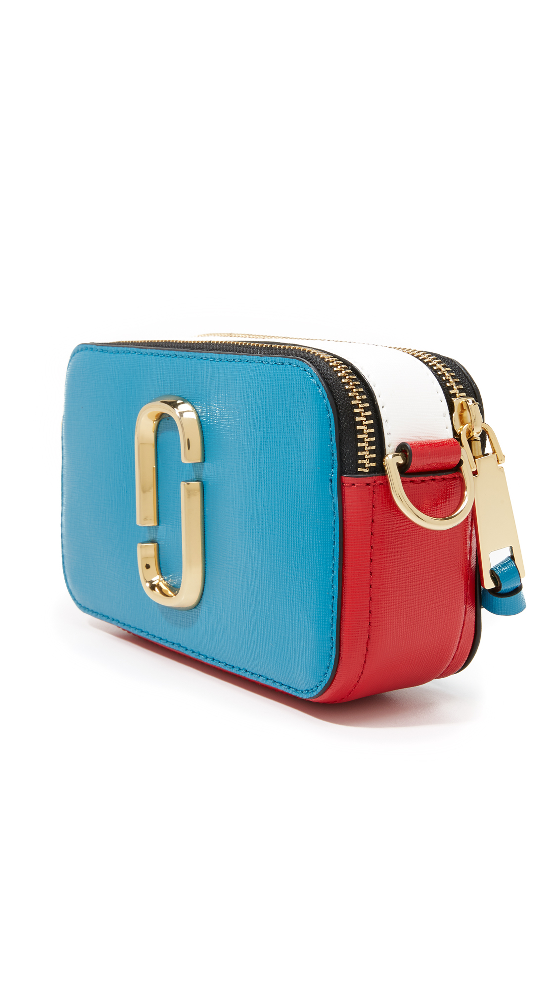 Marc Jacobs Snapshot Colorblock Camera Bag In Blue Lyst