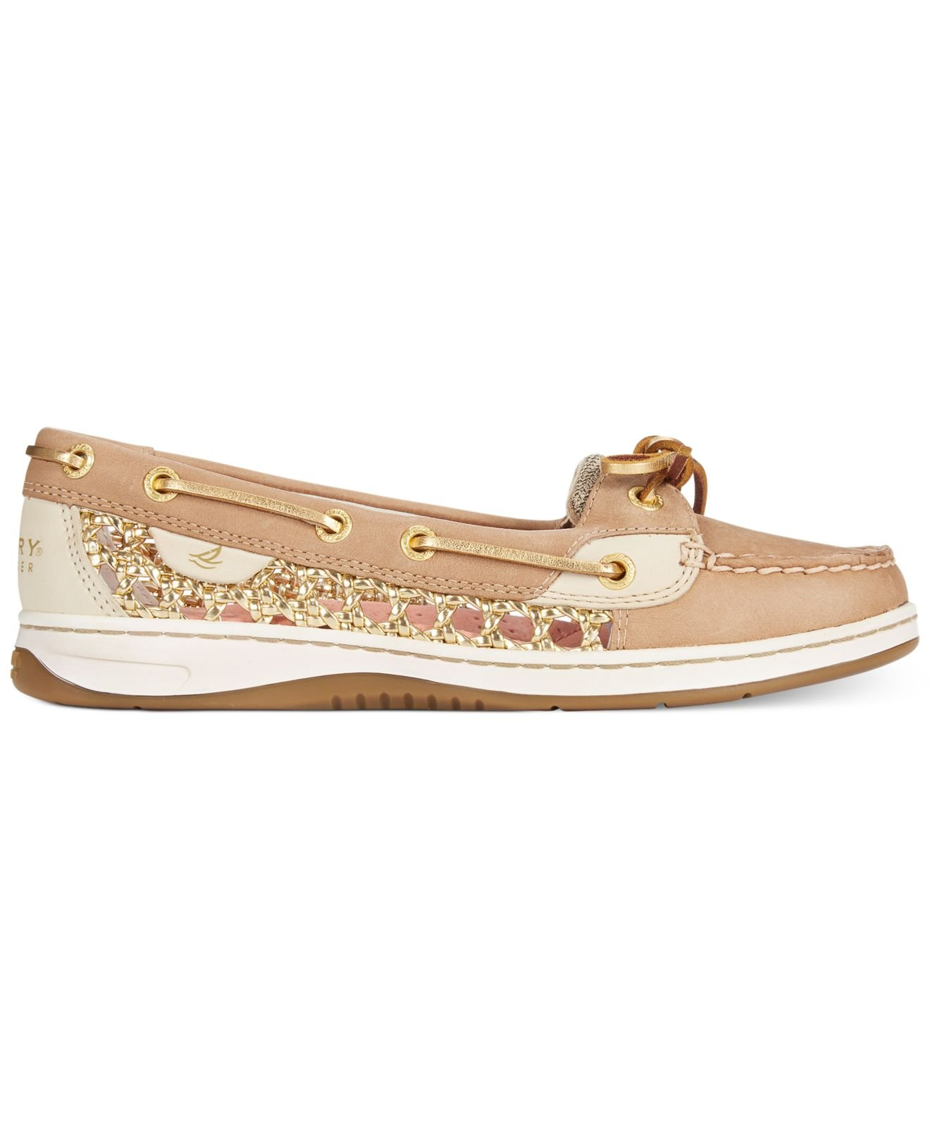 Sperry Top Sider Women Boat Shoe Gold