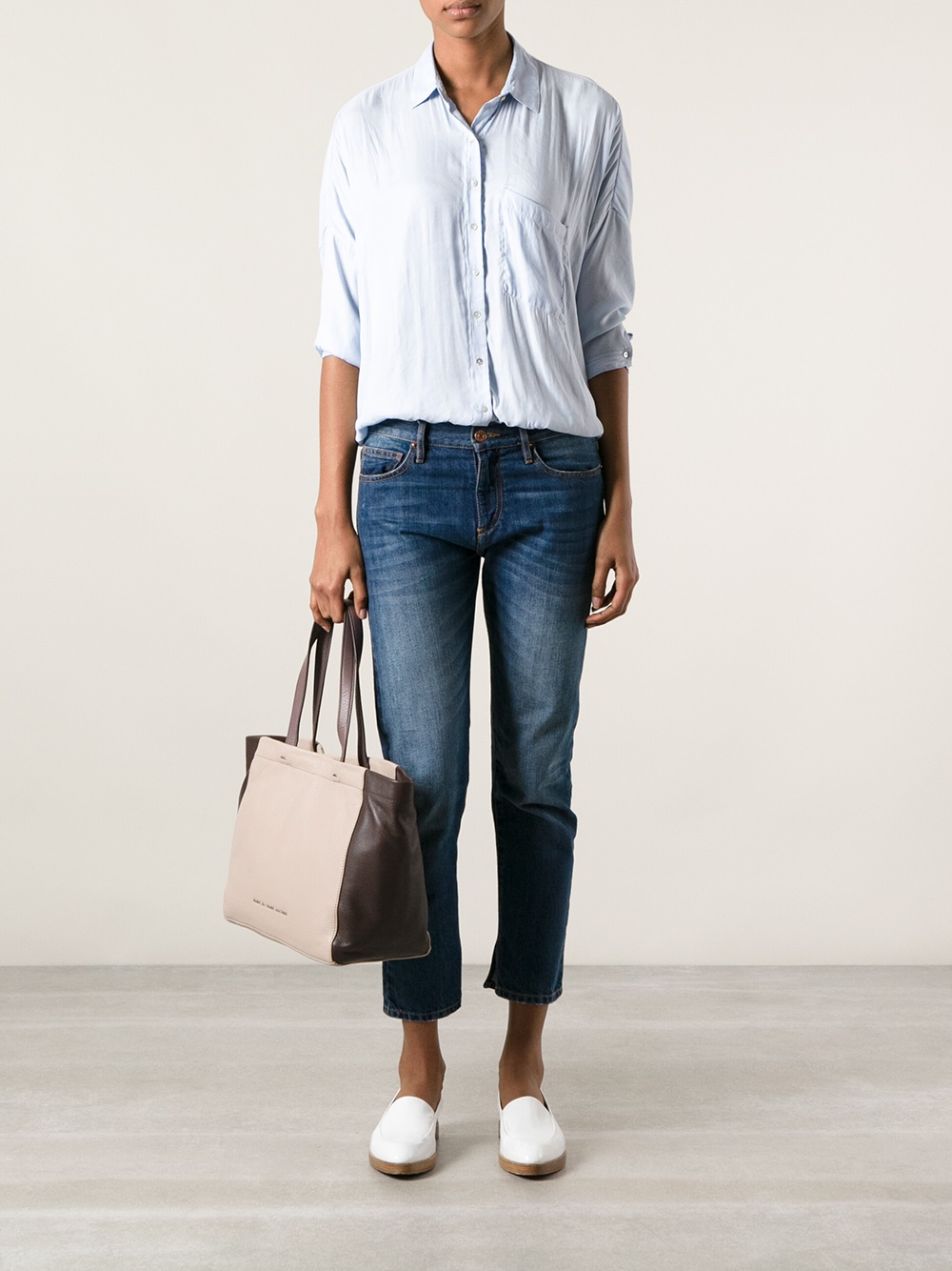Marc By Marc Jacobs Whats The T Tote in Natural