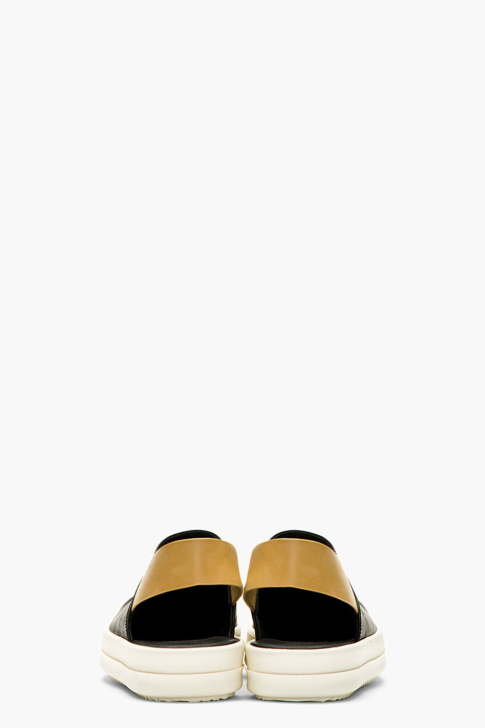Lyst Rick Owens Black And White Slingback Sneaker