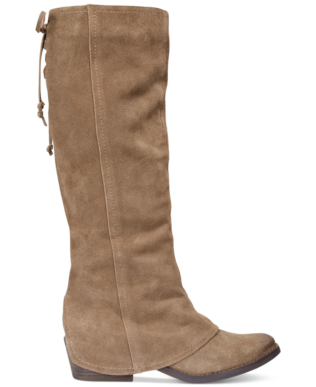 Lyst - Naughty Monkey Arctic Solstice Cuffed Boots in Brown 4604a5ce2423