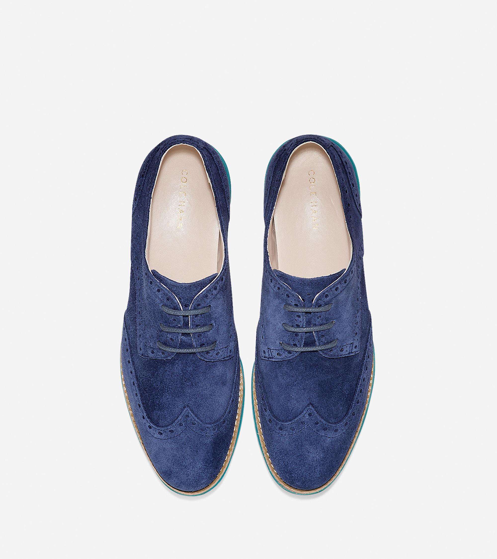 Waterproof Wingtip Women Shoe
