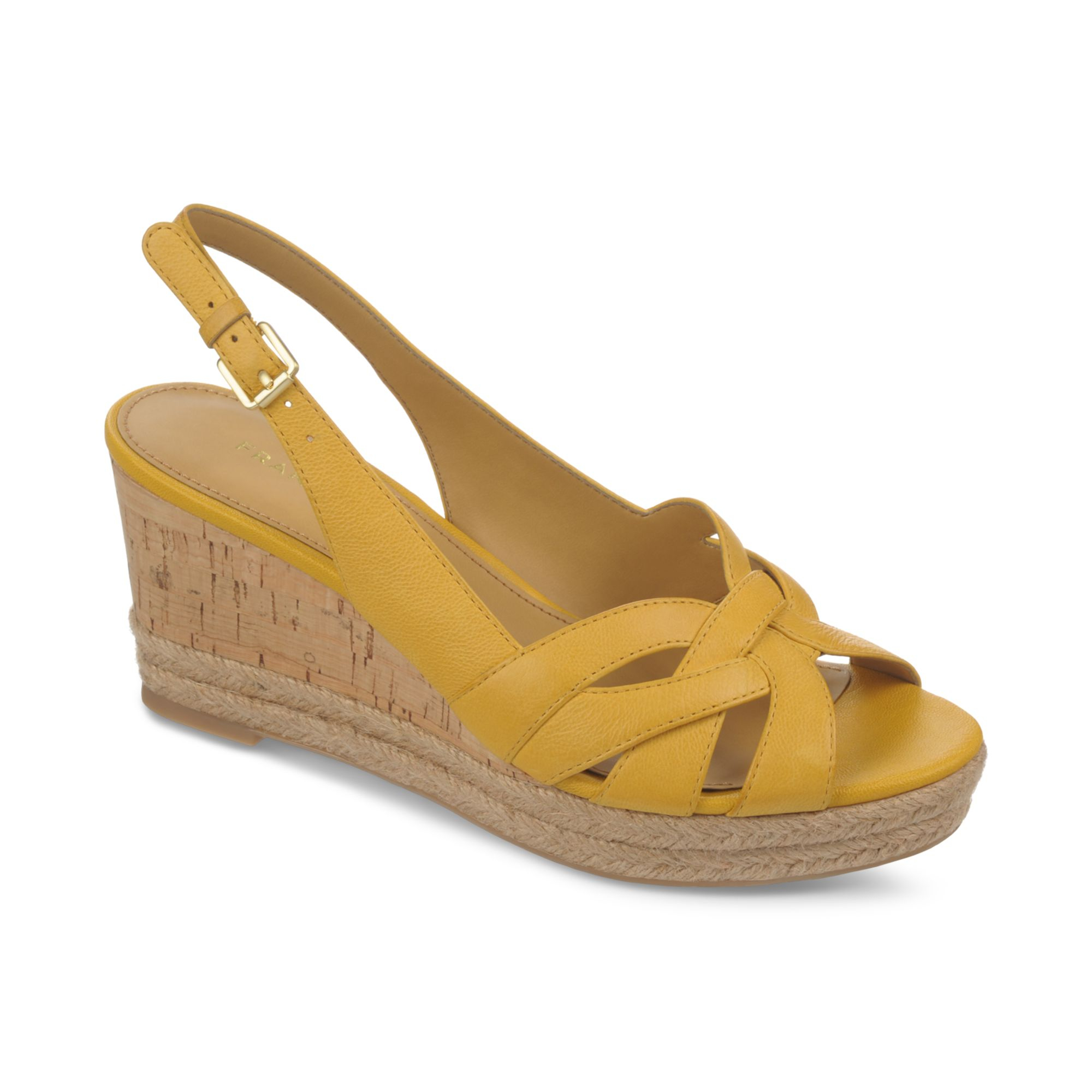 Franco Sarto Kris Platform Wedge Espadrille Sandals In
