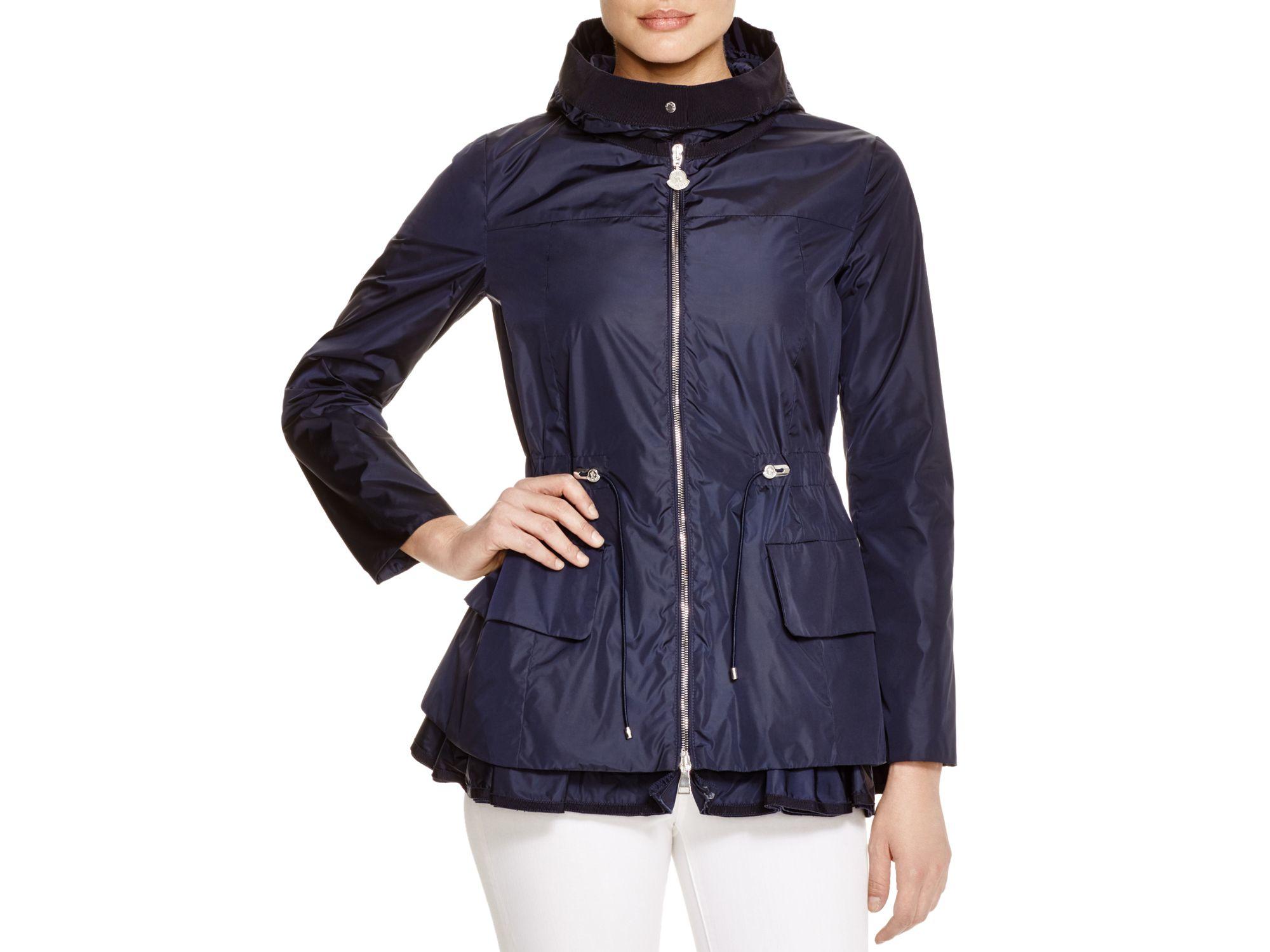 64aba9f28 Moncler Blue Limbert Hooded Shell Jacket