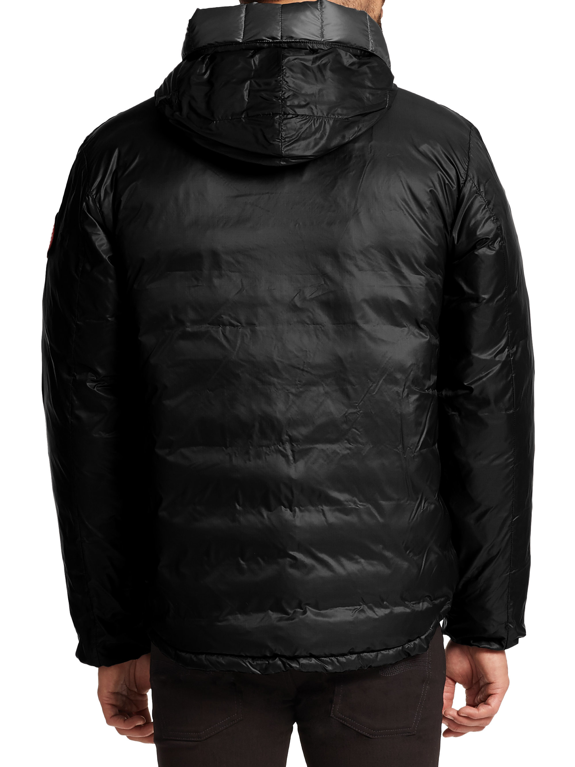 Canada Goose toronto online discounts - Canada goose Lodge Hooded Jacket in Black for Men | Lyst