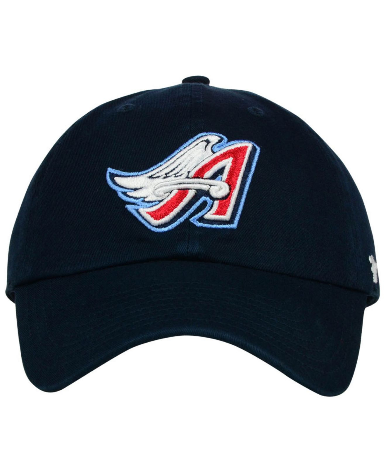 online store release date outlet on sale 47 Brand Los Angeles Angels Of Anaheim Core Clean Up Cap in Navy ...