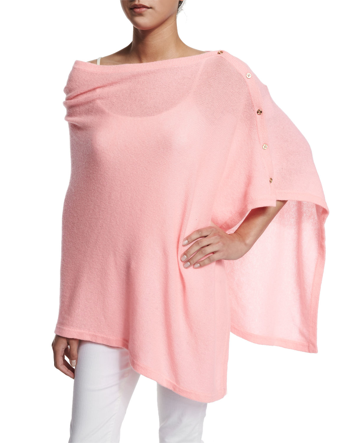 Lyst Lilly Pulitzer Harp Cashmere Wrap in Pink