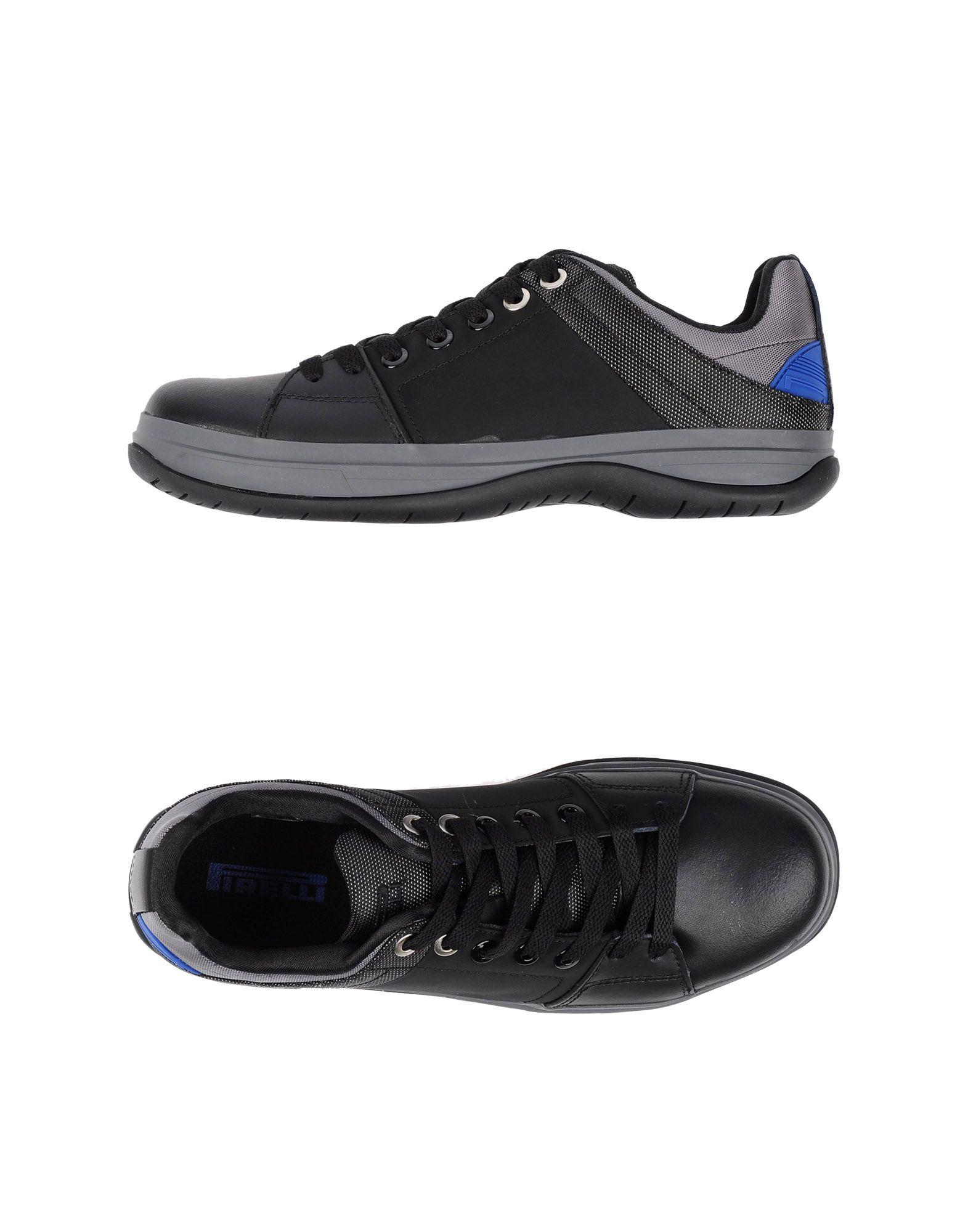 pirelli pzero low tops trainers in black for lyst