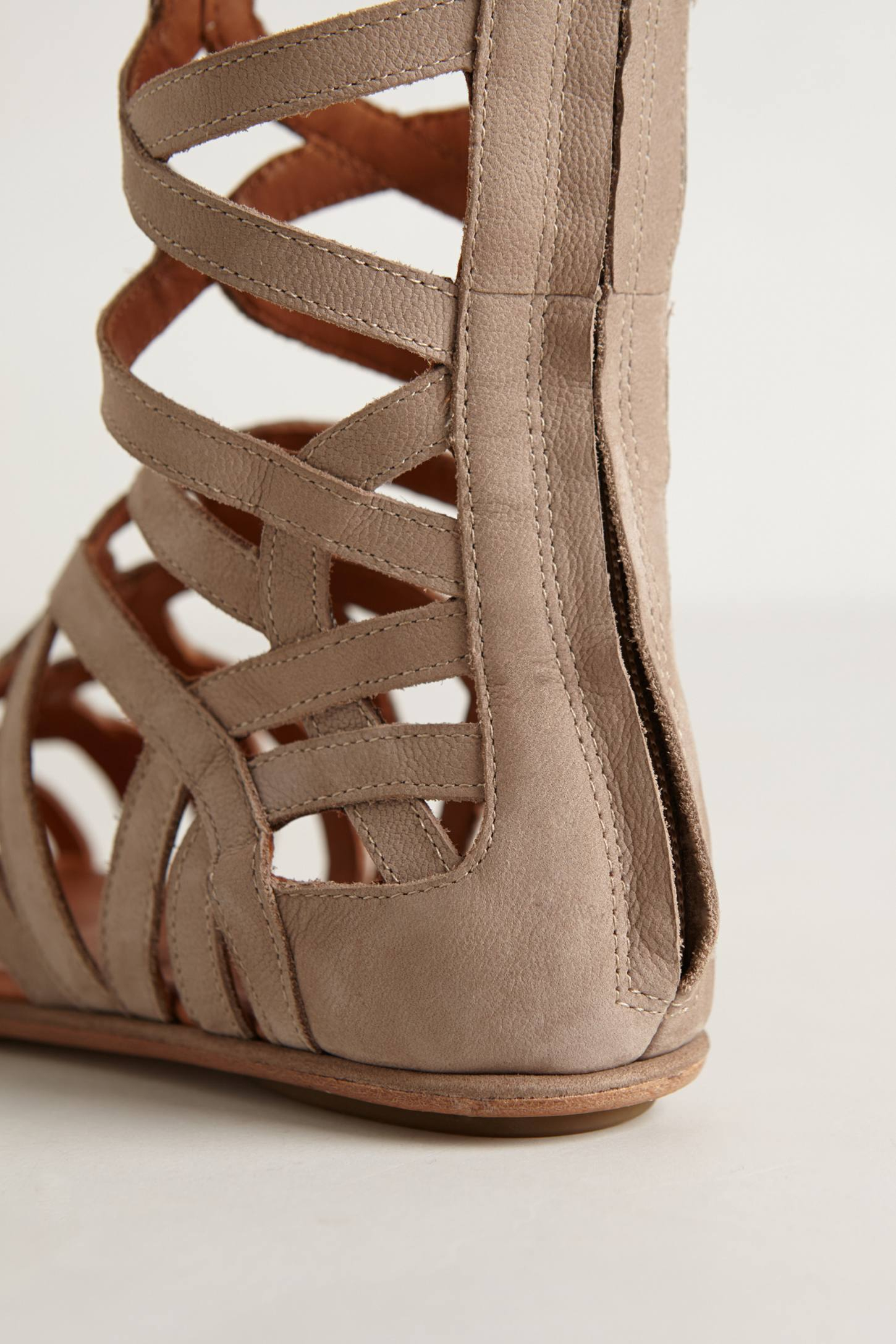 Gentle Souls Tarara Gladiator Sandals In Natural Lyst