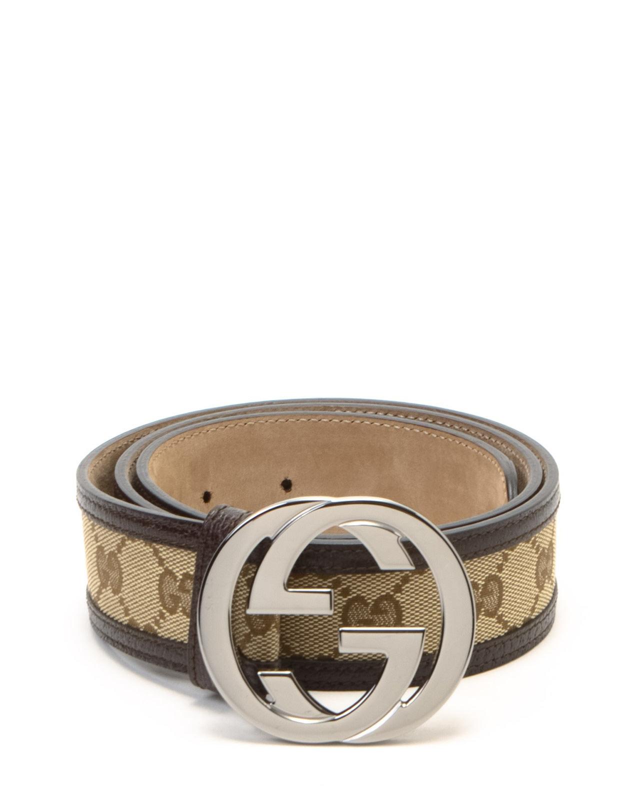 28685e2e83f Lyst - Gucci Belt in Natural for Men