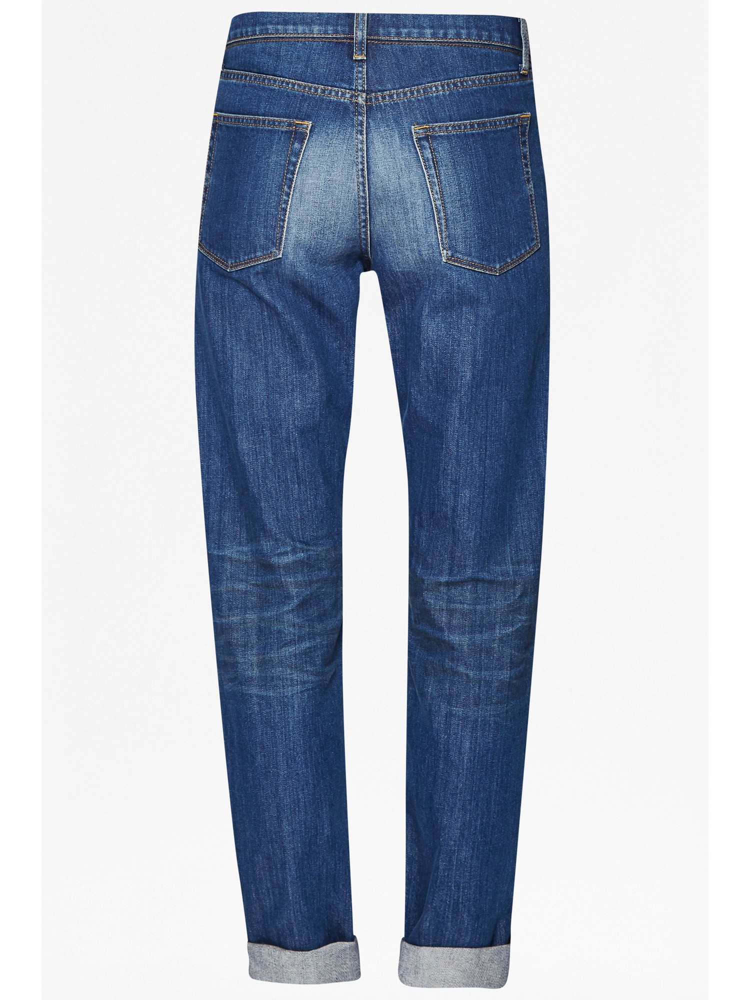 French Connection Denim Slim Boyfriend Jeans in Blue