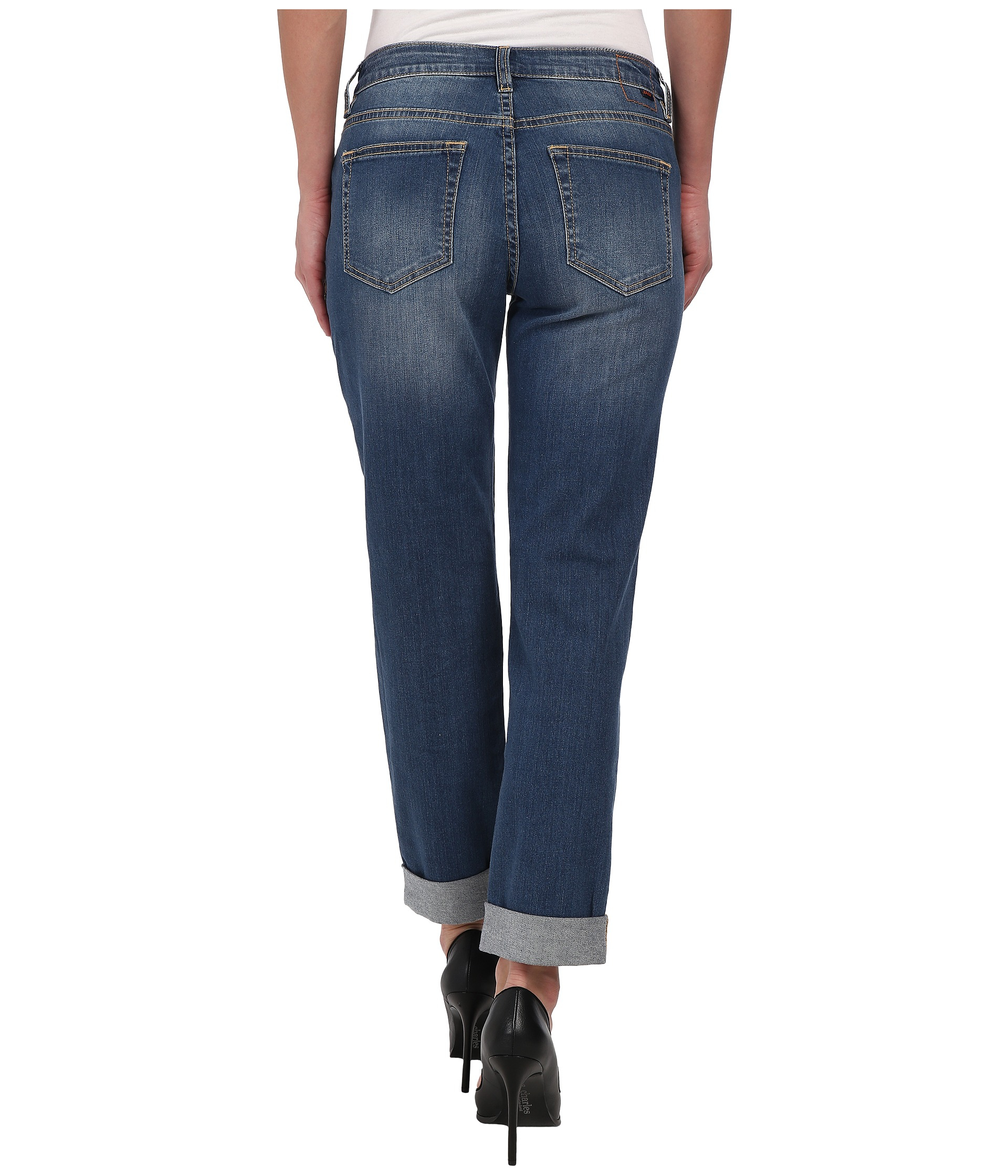 Jag jeans Henry Relaxed Boyfriend In Forever Blue in Blue | Lyst