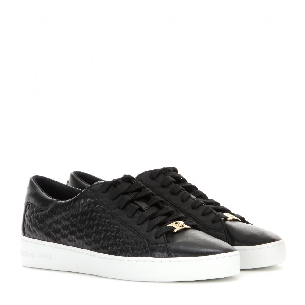 black sneakers michael kors