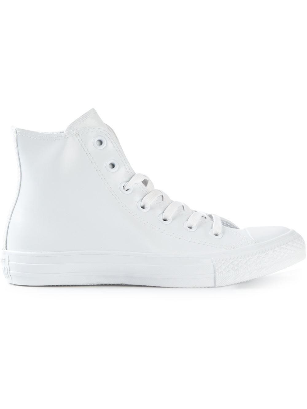 Converse High-Top Trainers in White | Lyst