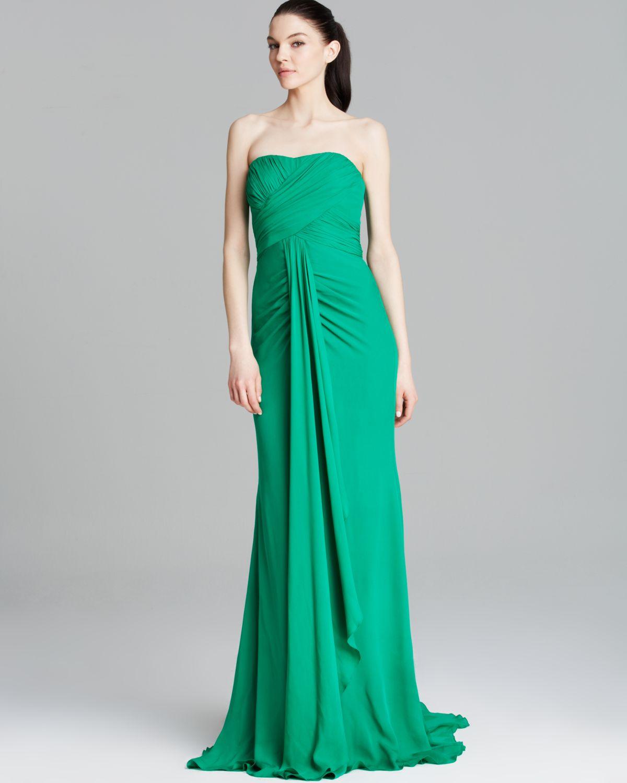 Nice Badgley Mischka Bridal Gown Festooning - All Wedding Dresses ...