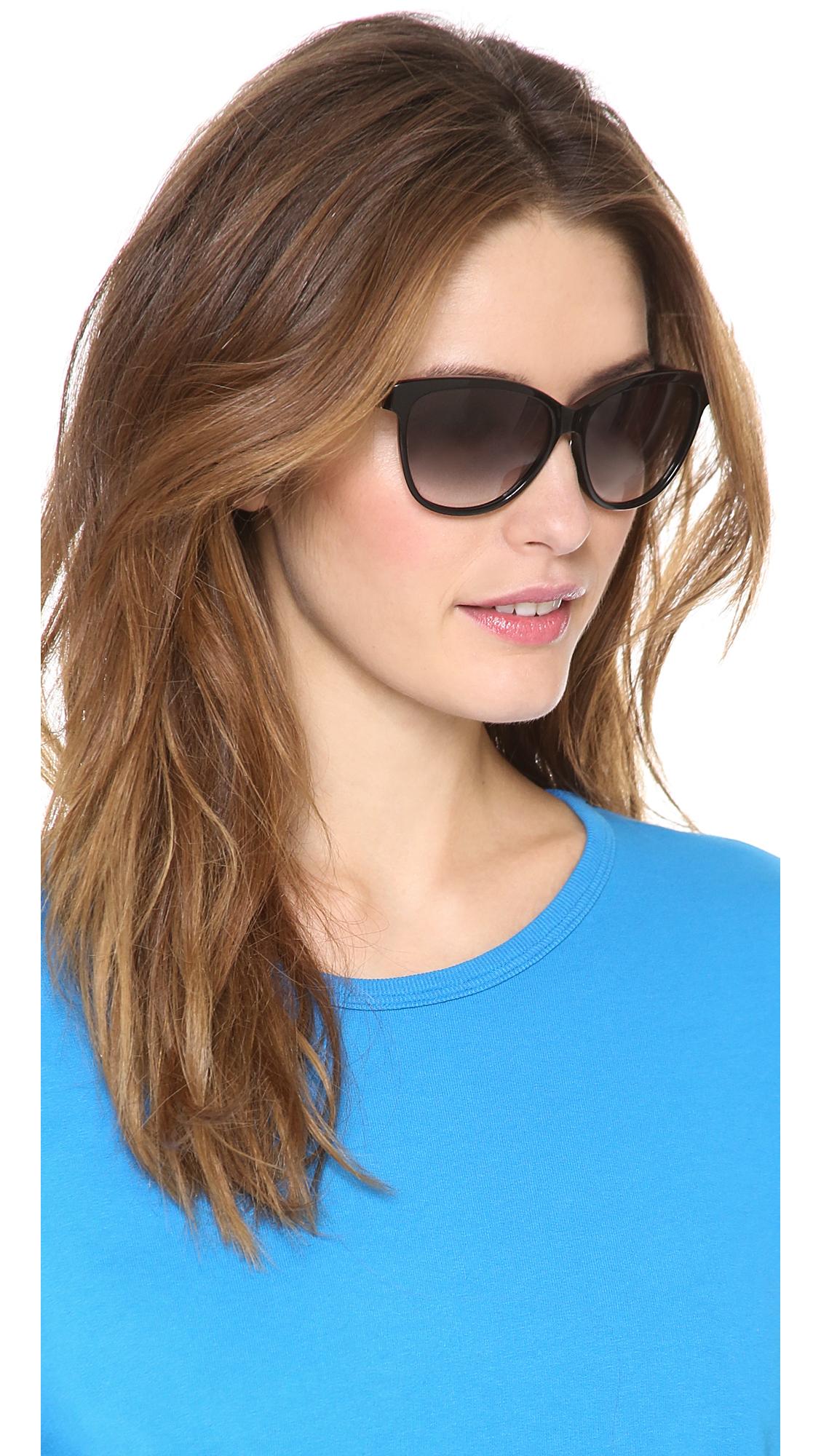 e3f063198493 Marc By Marc Jacobs Cat Eye Sunglasses - Havana/Brown Gradient in ...