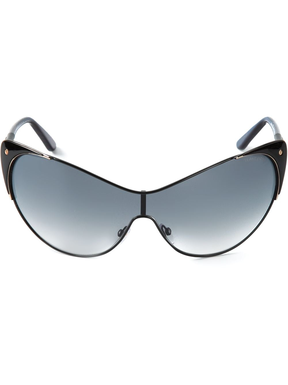 tom ford 39 nastasya 39 cat eye sunglasses in black lyst. Cars Review. Best American Auto & Cars Review