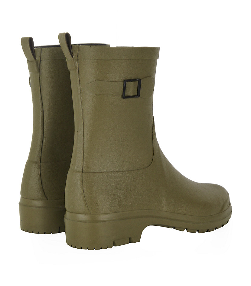 Le Chameau Low Boot in Green