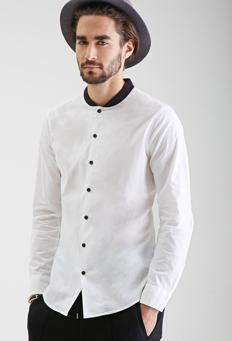 Buy low price, high quality men's white collar shirts with worldwide shipping on hitseparatingfiletransfer.tk