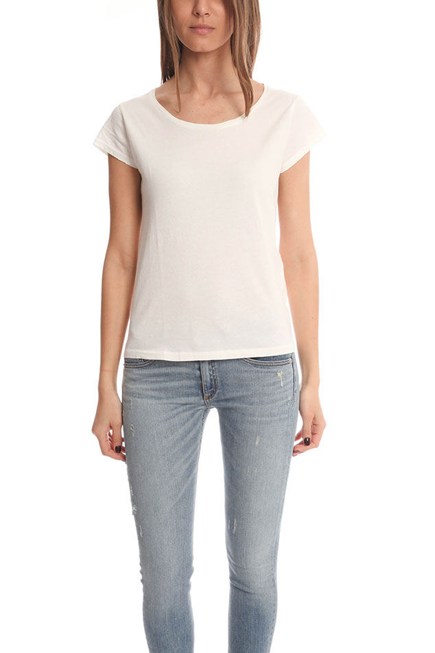 Acne Copy T Shirt In White Lyst