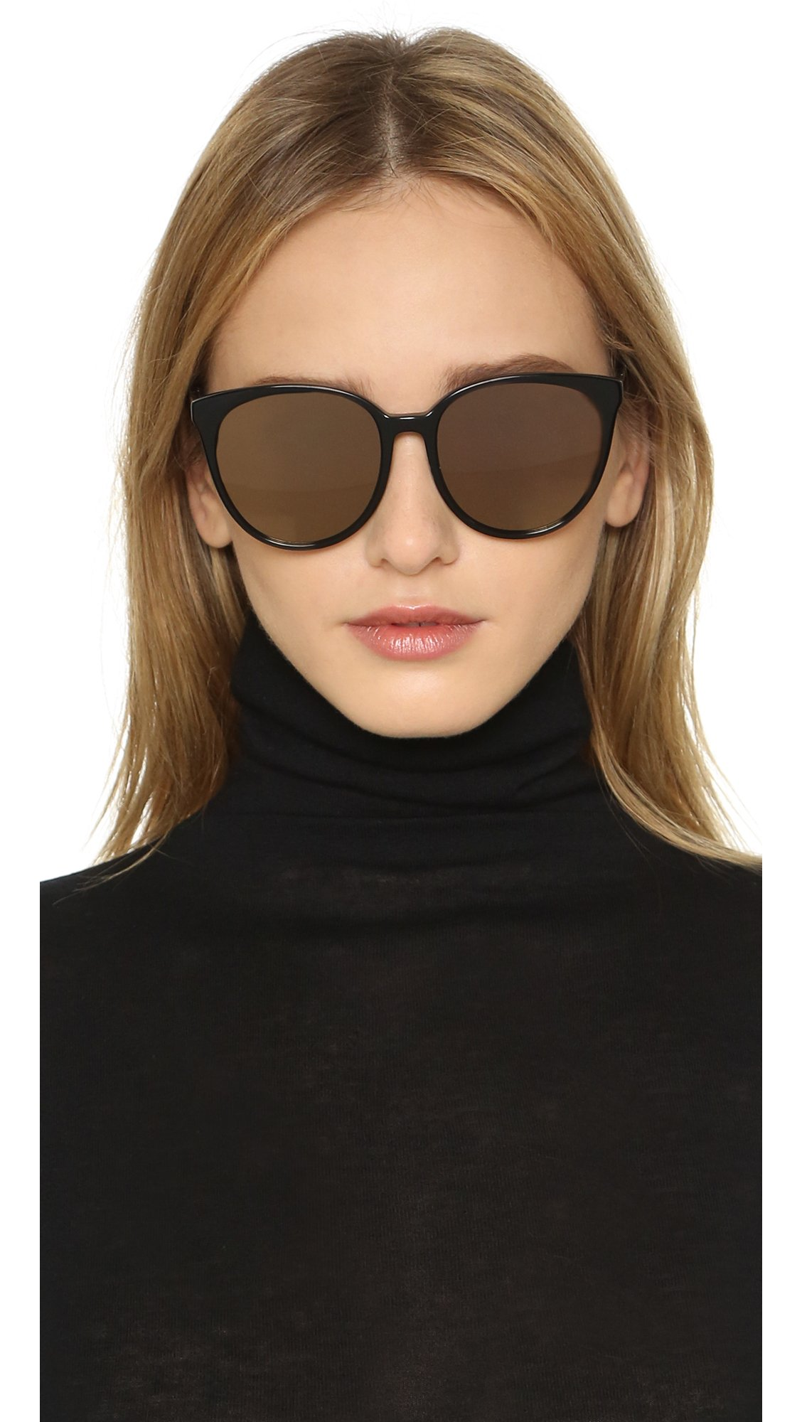 Sunday Somewhere Woman Round-frame Acetate Sunglasses White Size Sunday Somewhere 2018 Newest Sale Online Clearance Cheap Online Best Place Online wdIU2YKax