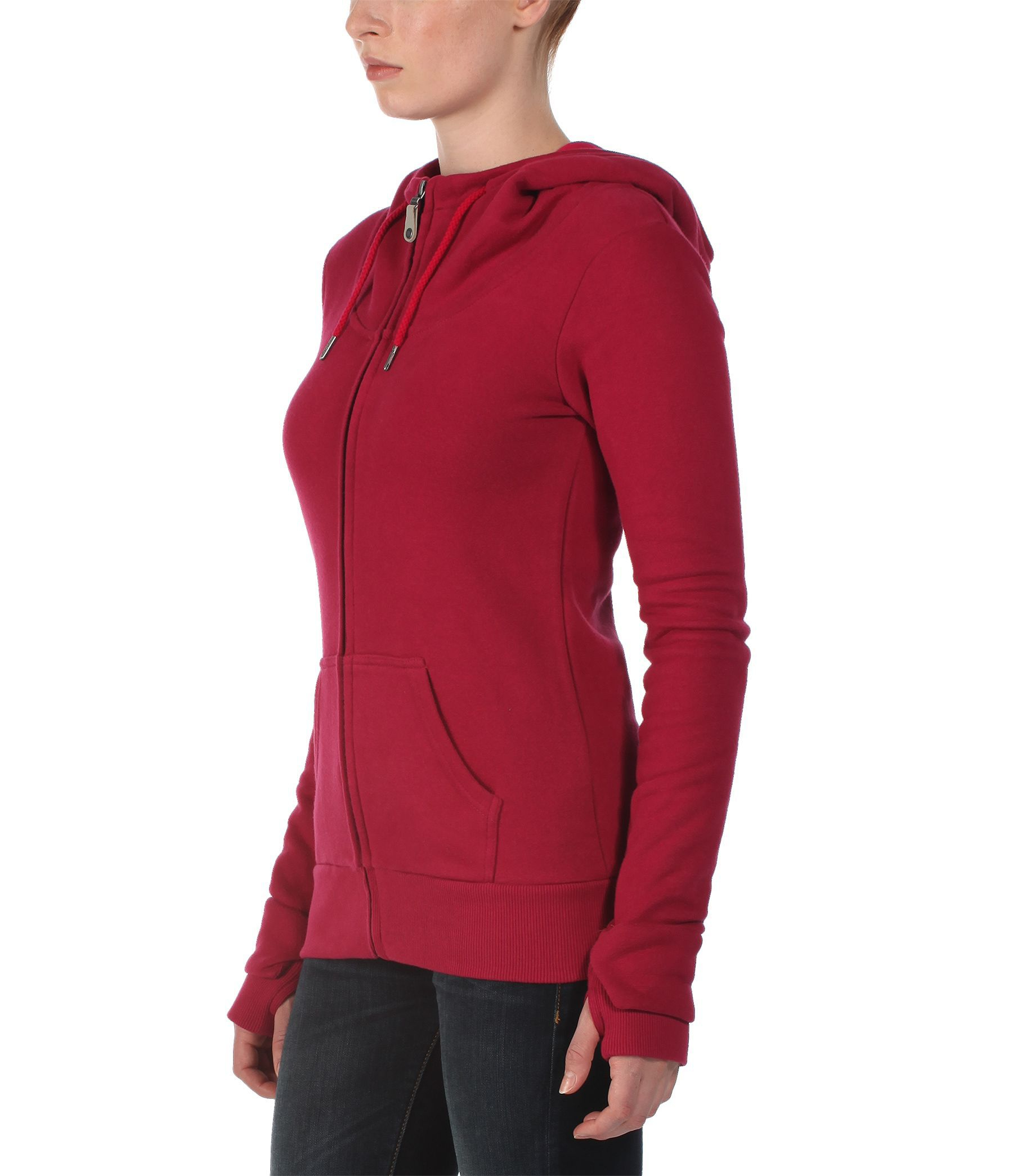 Bench Thehare Zip Thru Hoodie In Red Lyst