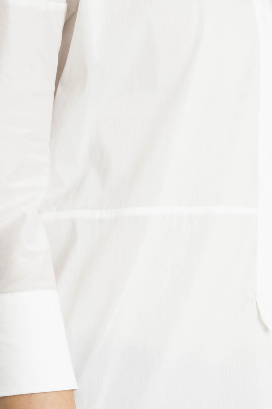 lyst day birger et mikkelsen starch tunic in white. Black Bedroom Furniture Sets. Home Design Ideas