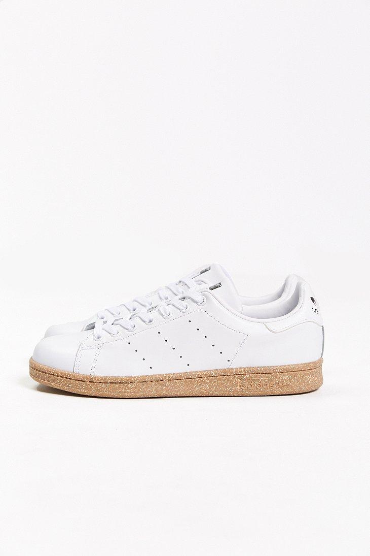 pretty nice 894cf 33f22 Adidas White Originals Stan Smith Gum-Sole Sneaker for men