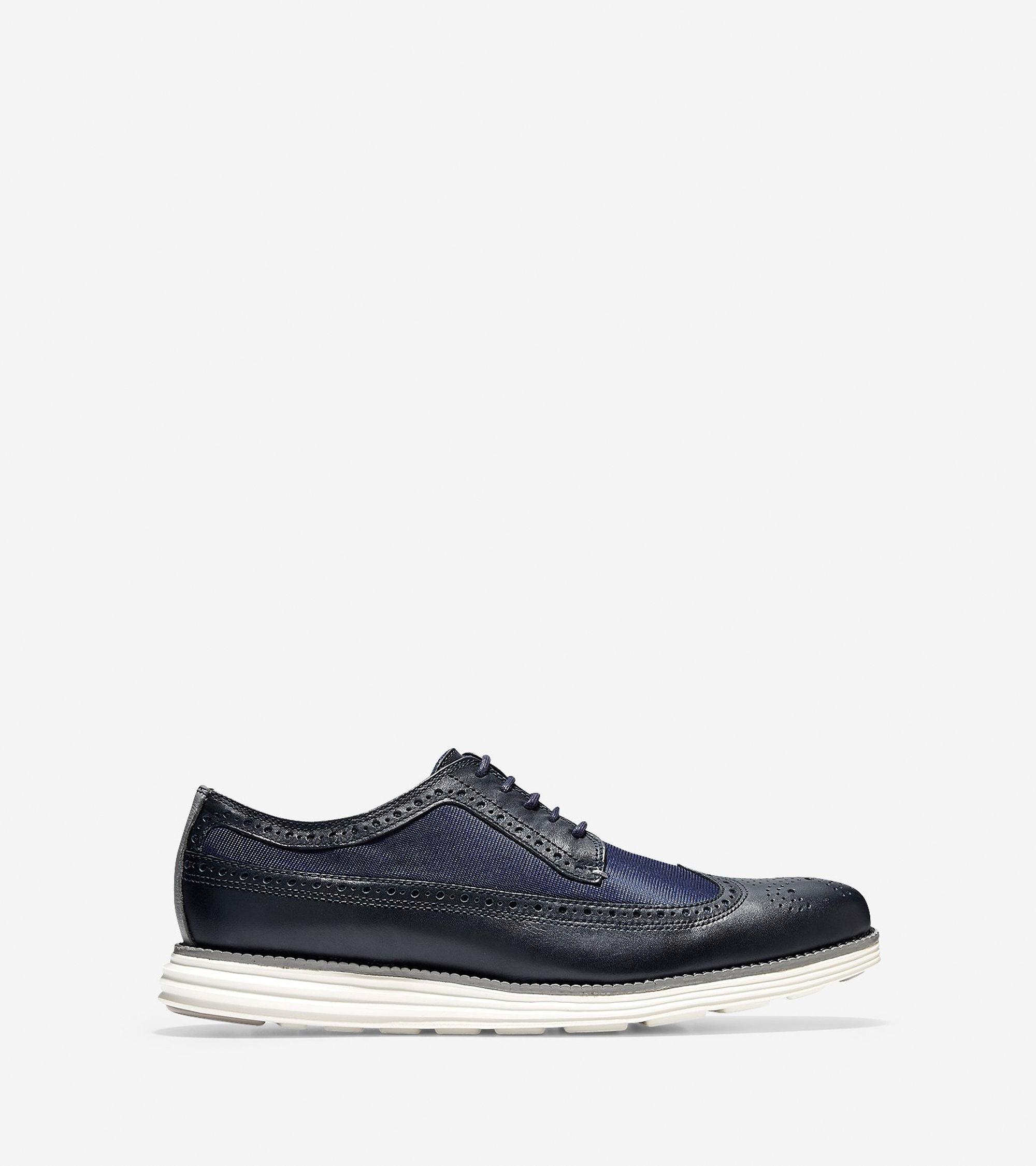 Dark Blue Oxford Shoes