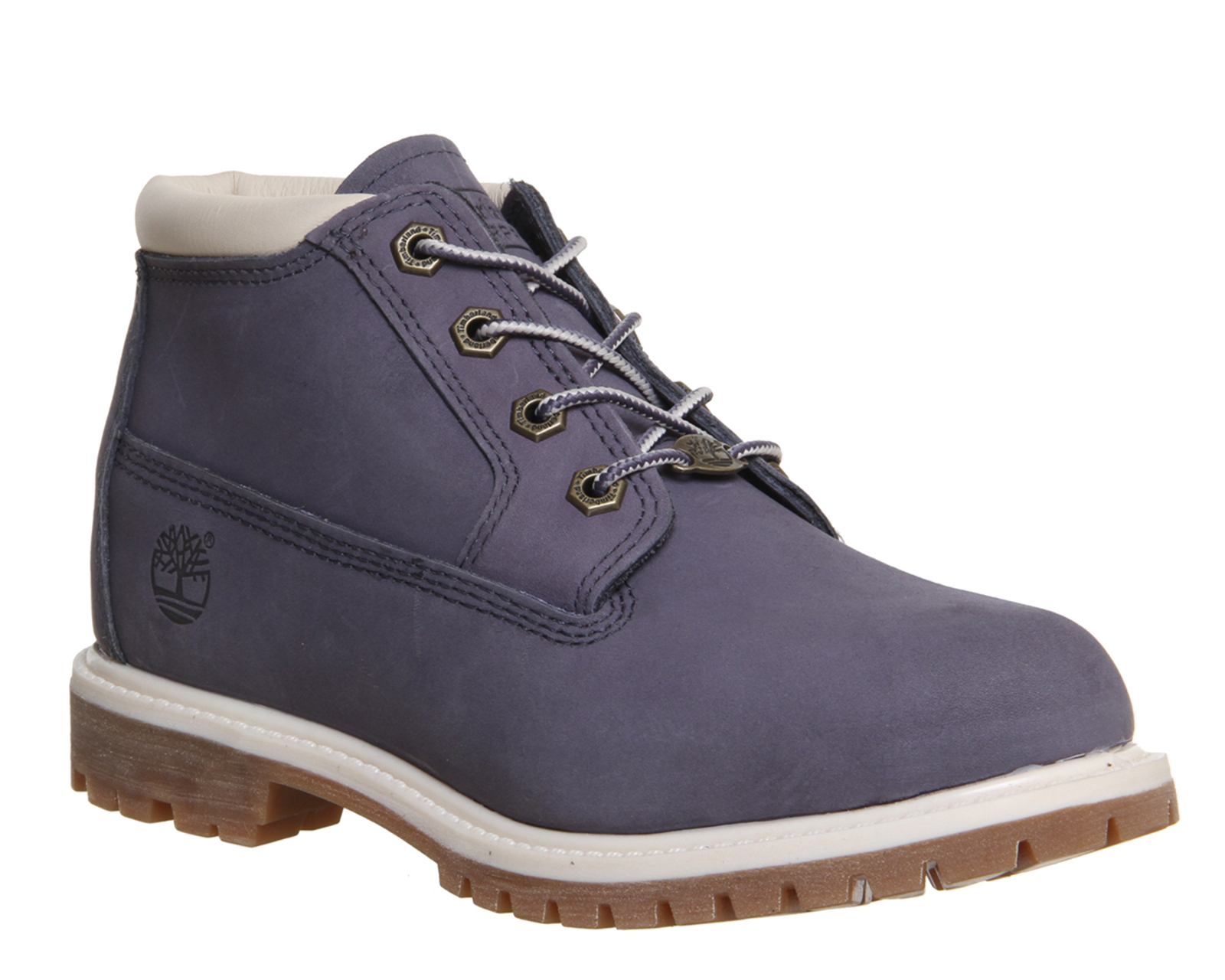 timberland nellie chukka double waterproof boot in gray. Black Bedroom Furniture Sets. Home Design Ideas