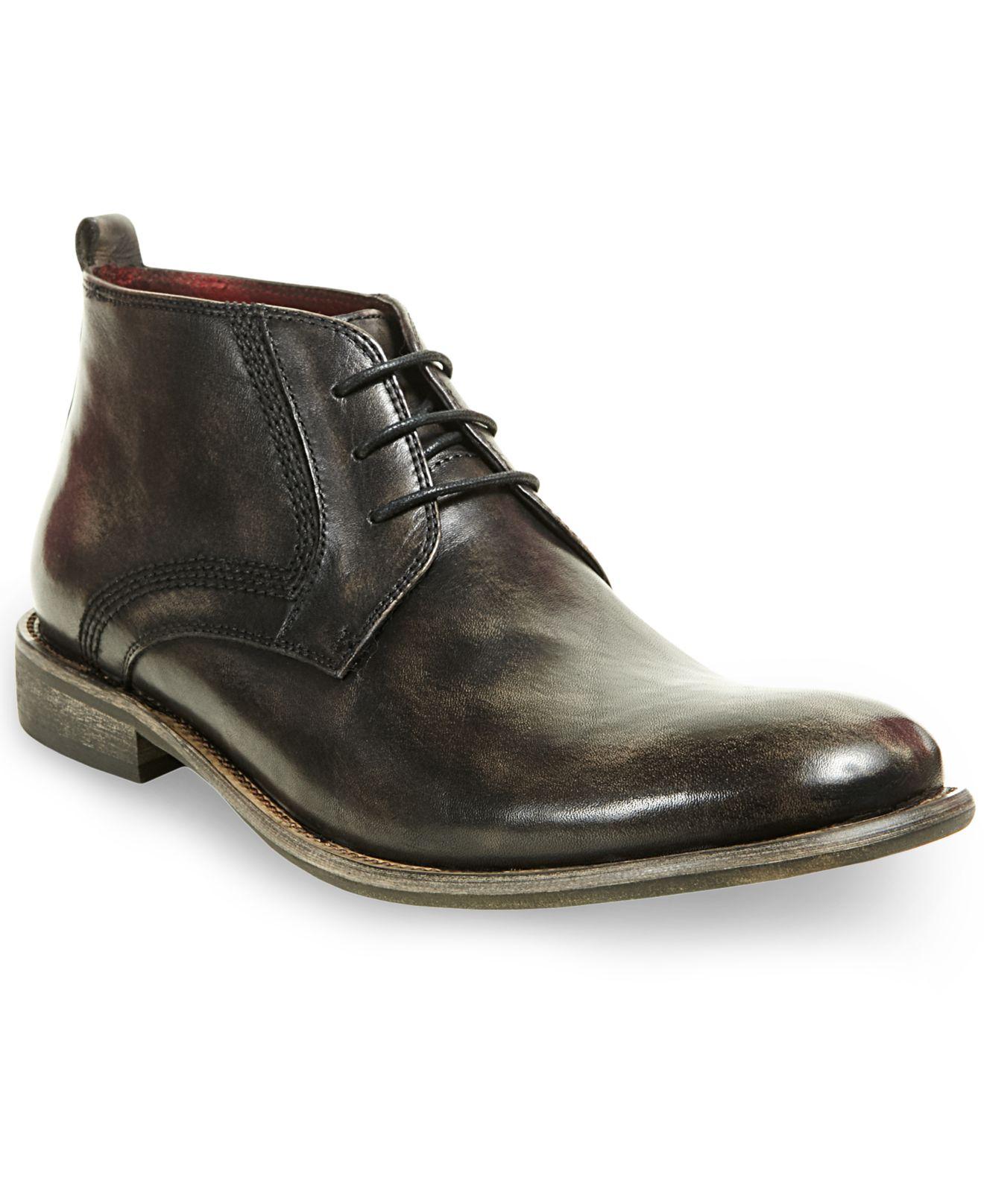 43b8dcc3200 Steve Madden Black Bronxxx Chukka Boots for men