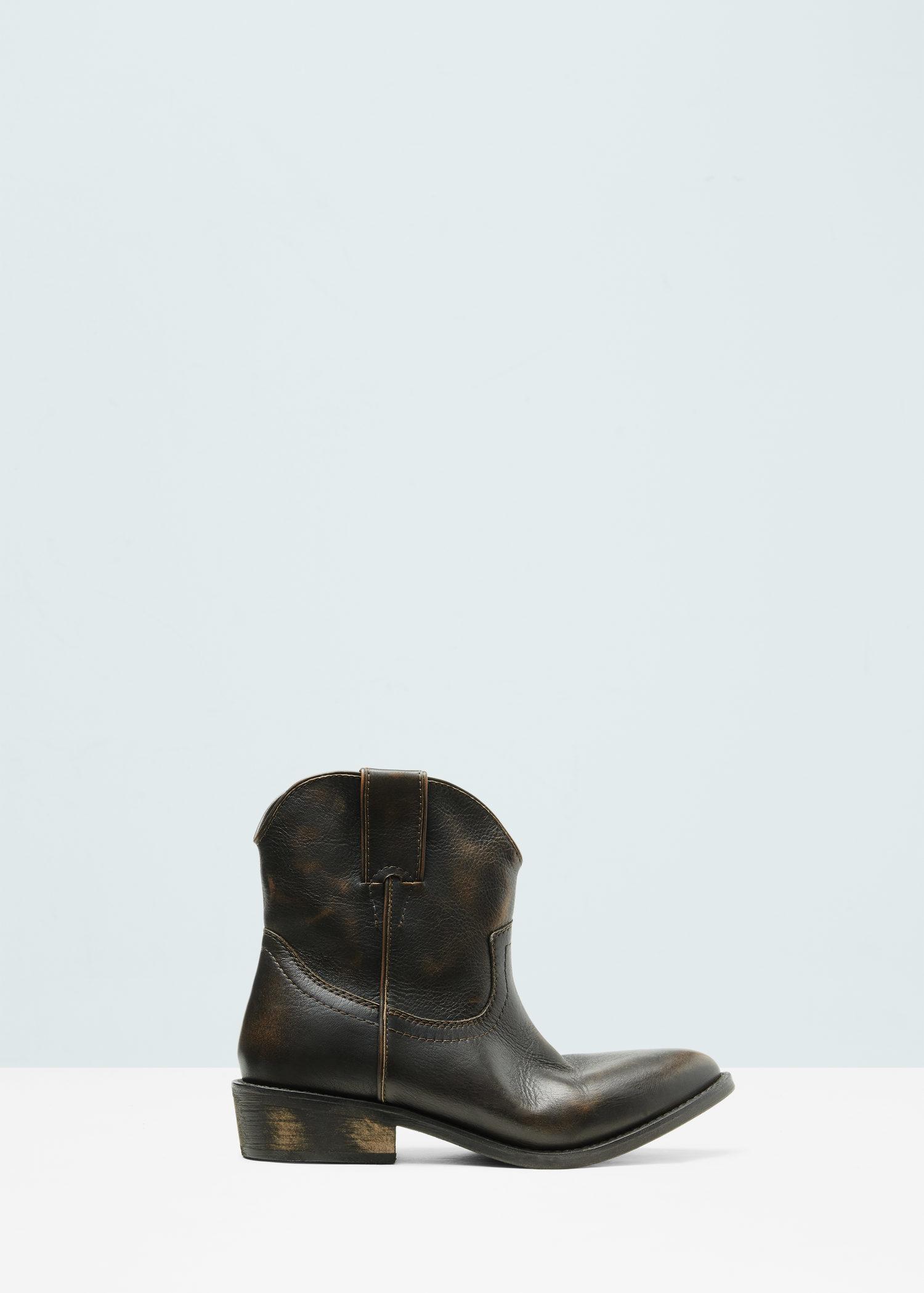 Mango Leather Cowboy Boot wholesale online free shipping best sale free shipping shopping online t1gKmKh6O9