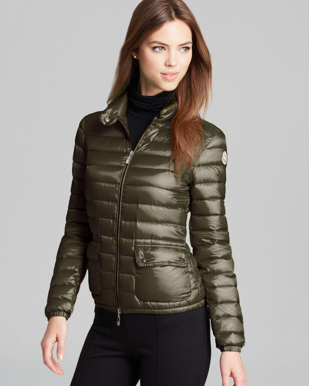 moncler khaki green jacket