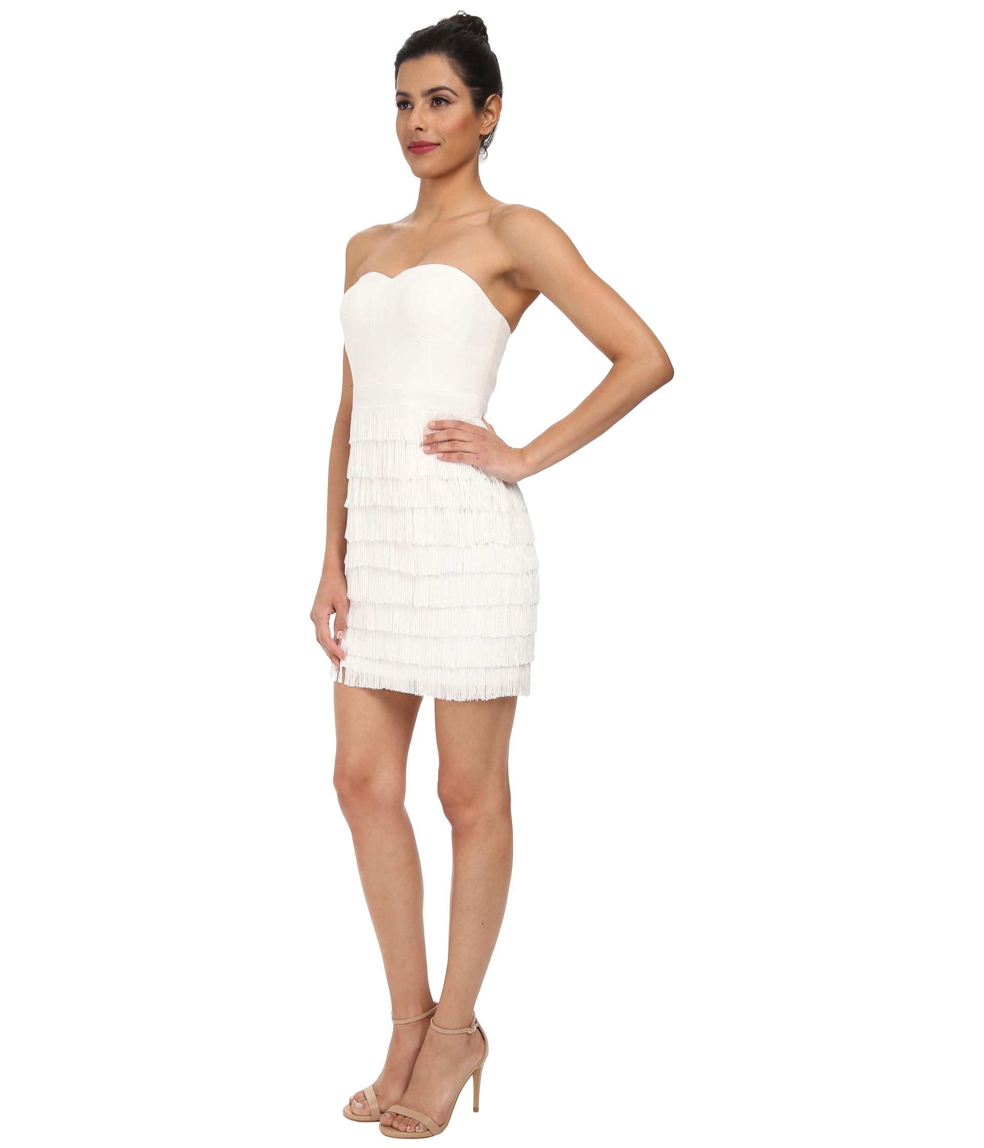 Tolle Strapless White Cocktail Dress Ideen - Brautkleider Ideen ...