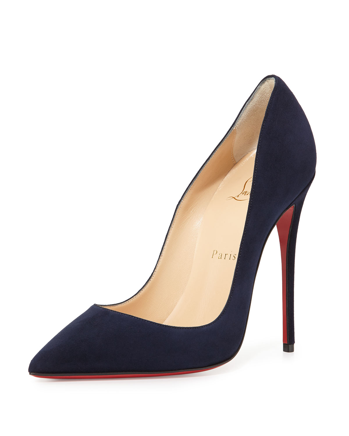 d3476cd107c Christian Louboutin Daffy 160mm Pumps Blue