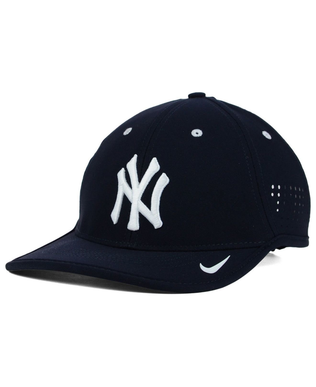 ea80c7a66b6 ... netherlands lyst nike new york yankees vapor swoosh adjustable cap in  blue for men 8531b 8437c
