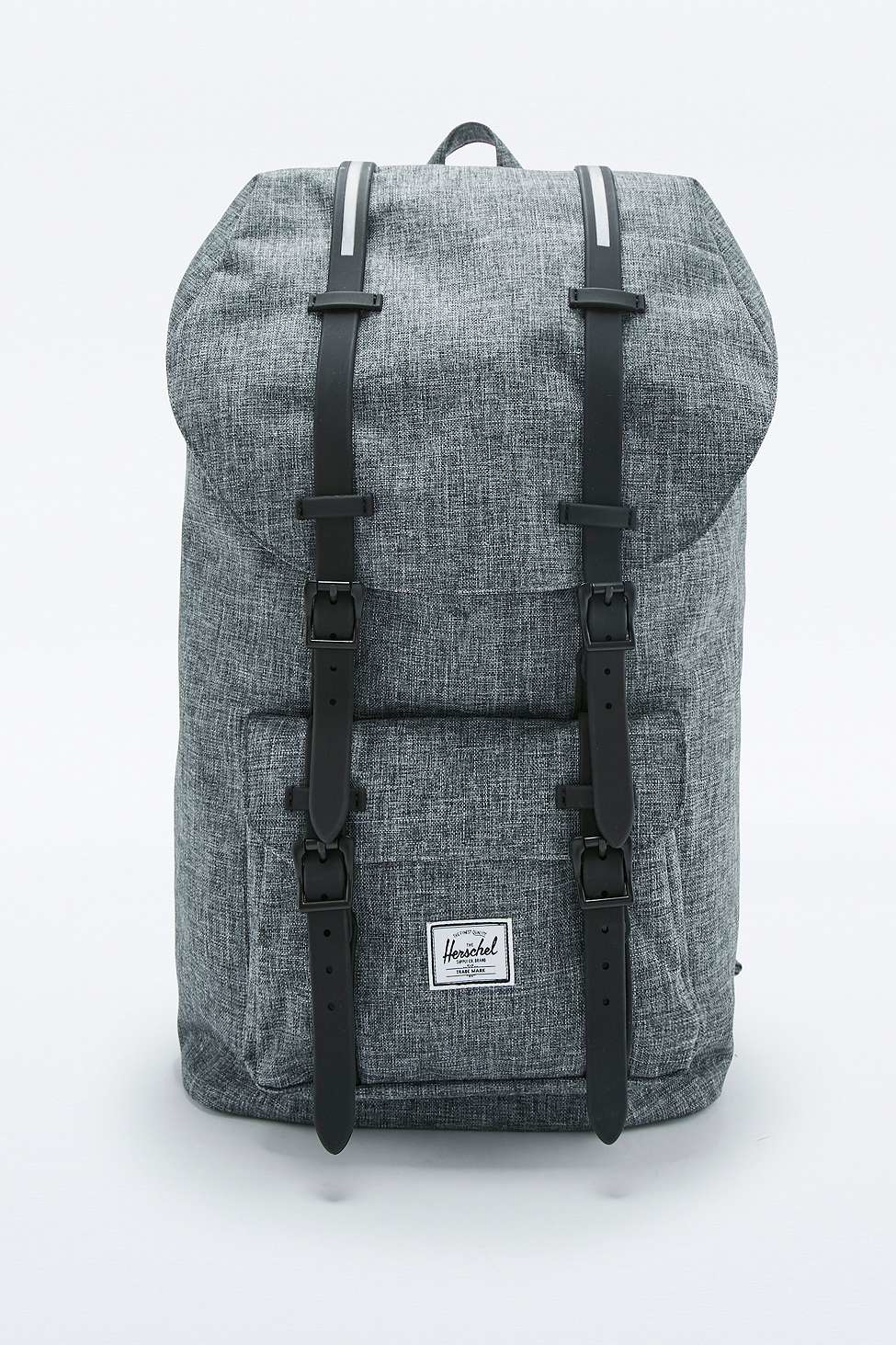 2adf556f38 Herschel Supply Co. Little America Raven Crosshatch Backpack in Gray ...