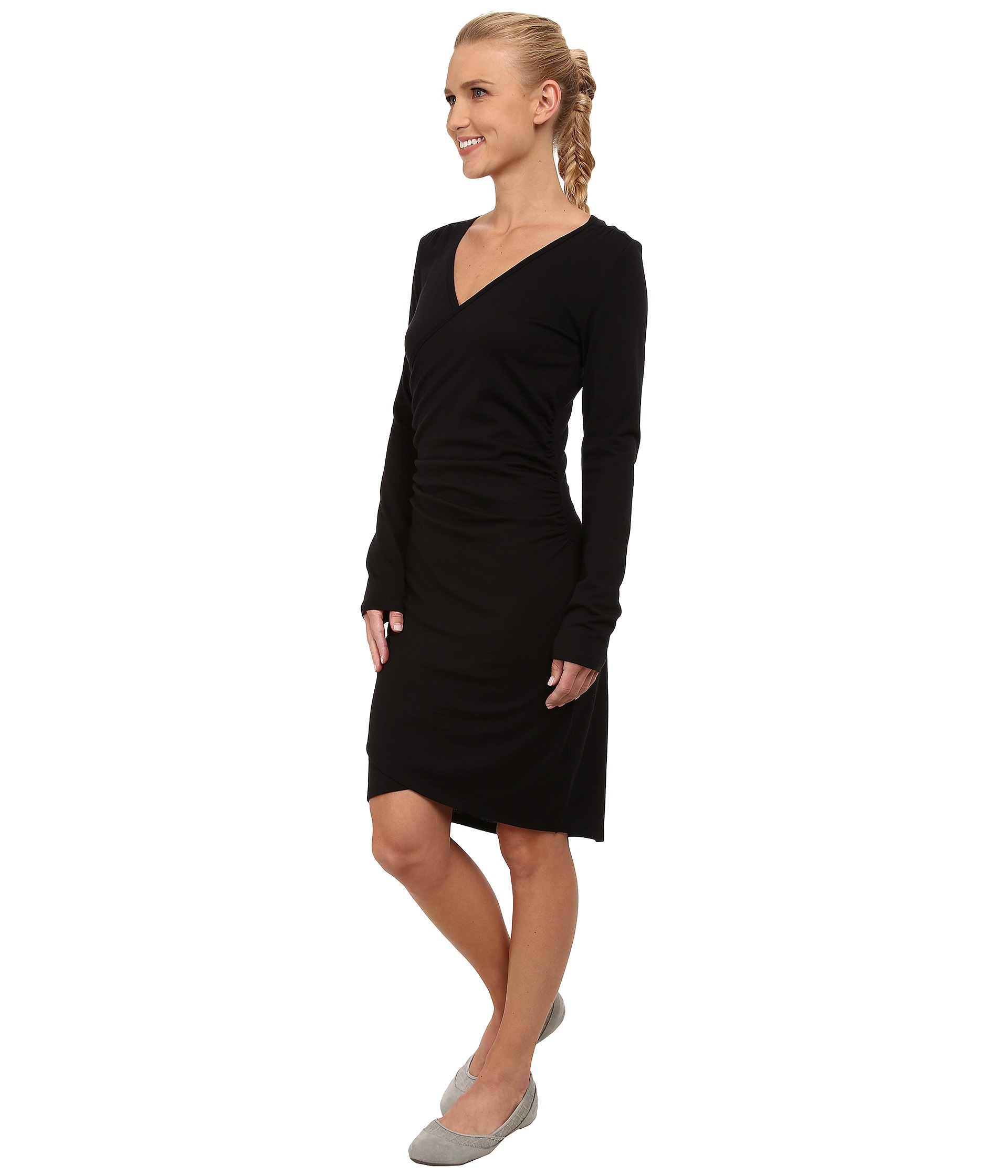 Icebreaker roma dress long sleeve