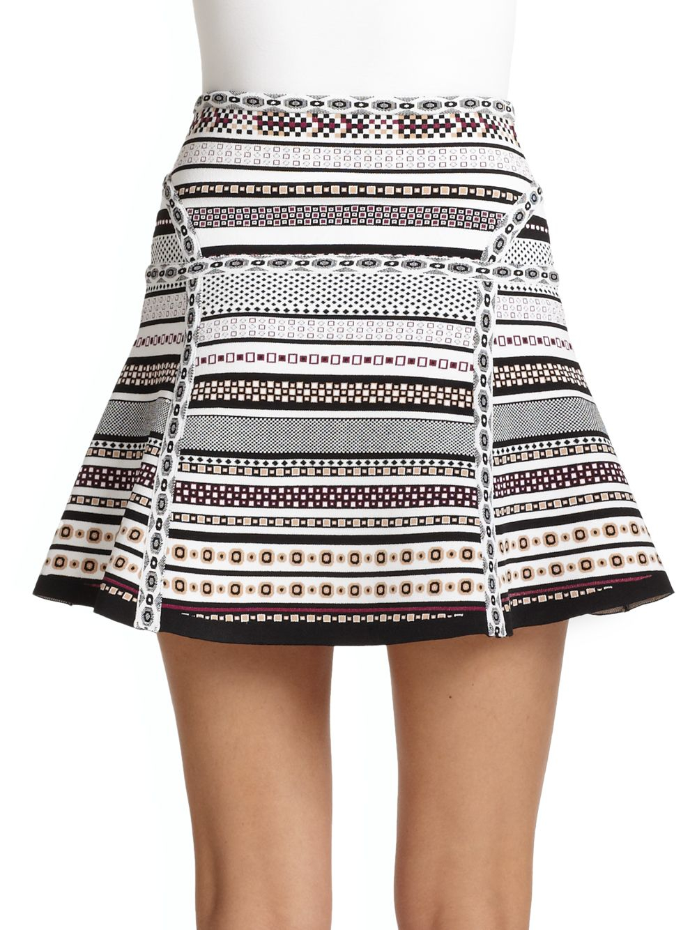 Diane von Furstenberg Crocheted Knee-Length Skirt Clearance Low Shipping Buy Cheap Eastbay Many Kinds Of Online With Paypal Cheap Price Footlocker Finishline Cheap Online GTM8UWO