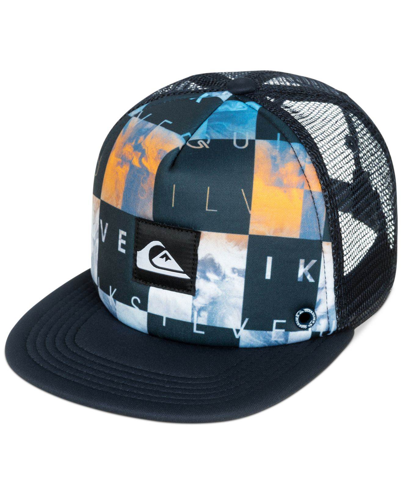 70e584fd152ed ... best price lyst quiksilver boardies hat in black for men b2eb3 33b25