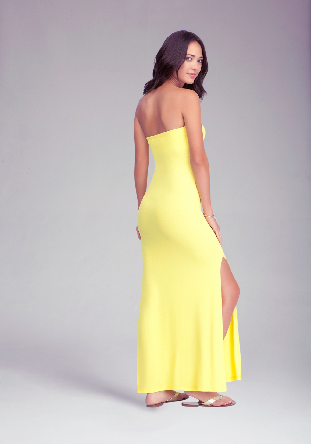 Seamless tube maxi dress