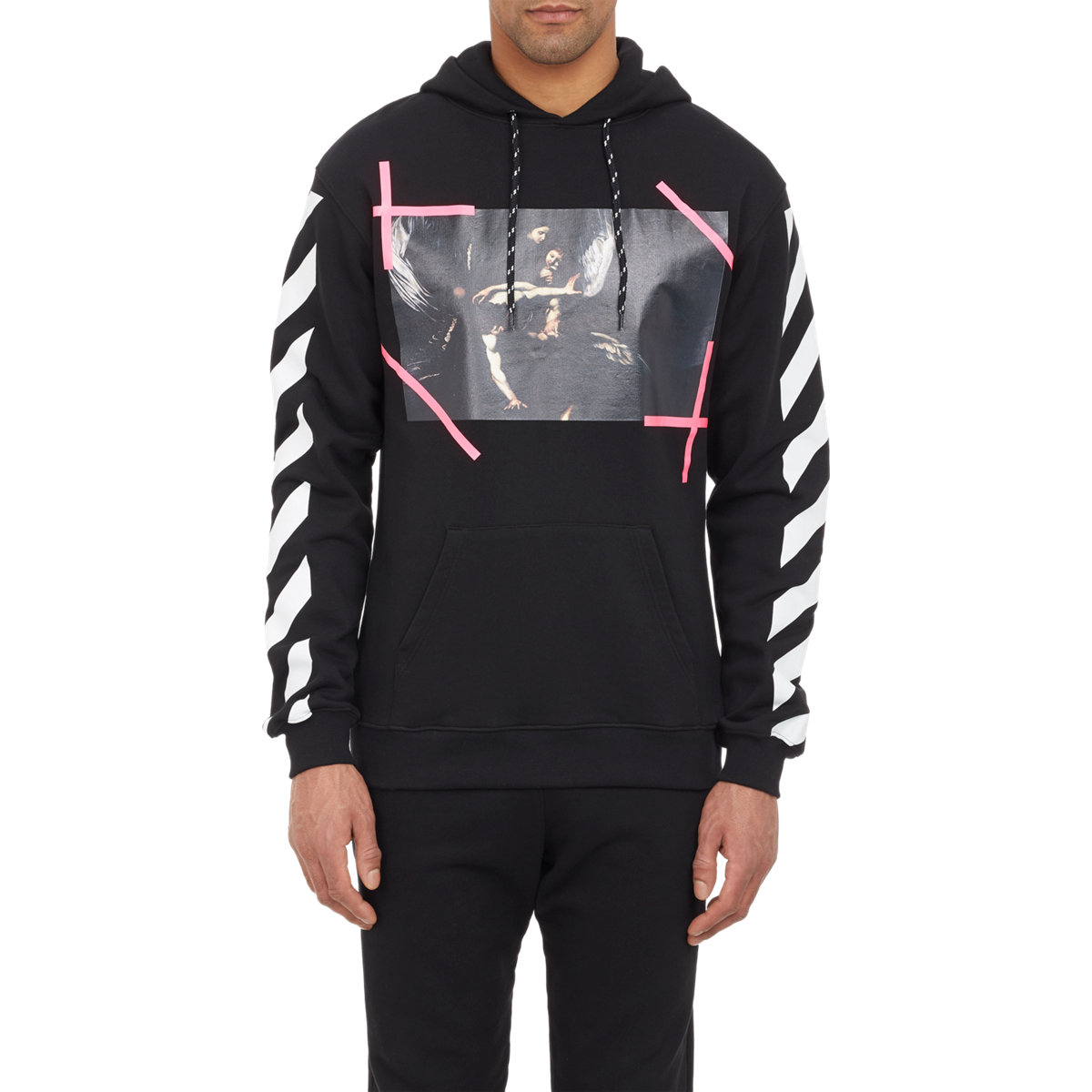 e8f52f90a1ca Lyst - Off-White c o Virgil Abloh Caravaggio Hoodie in Black for Men