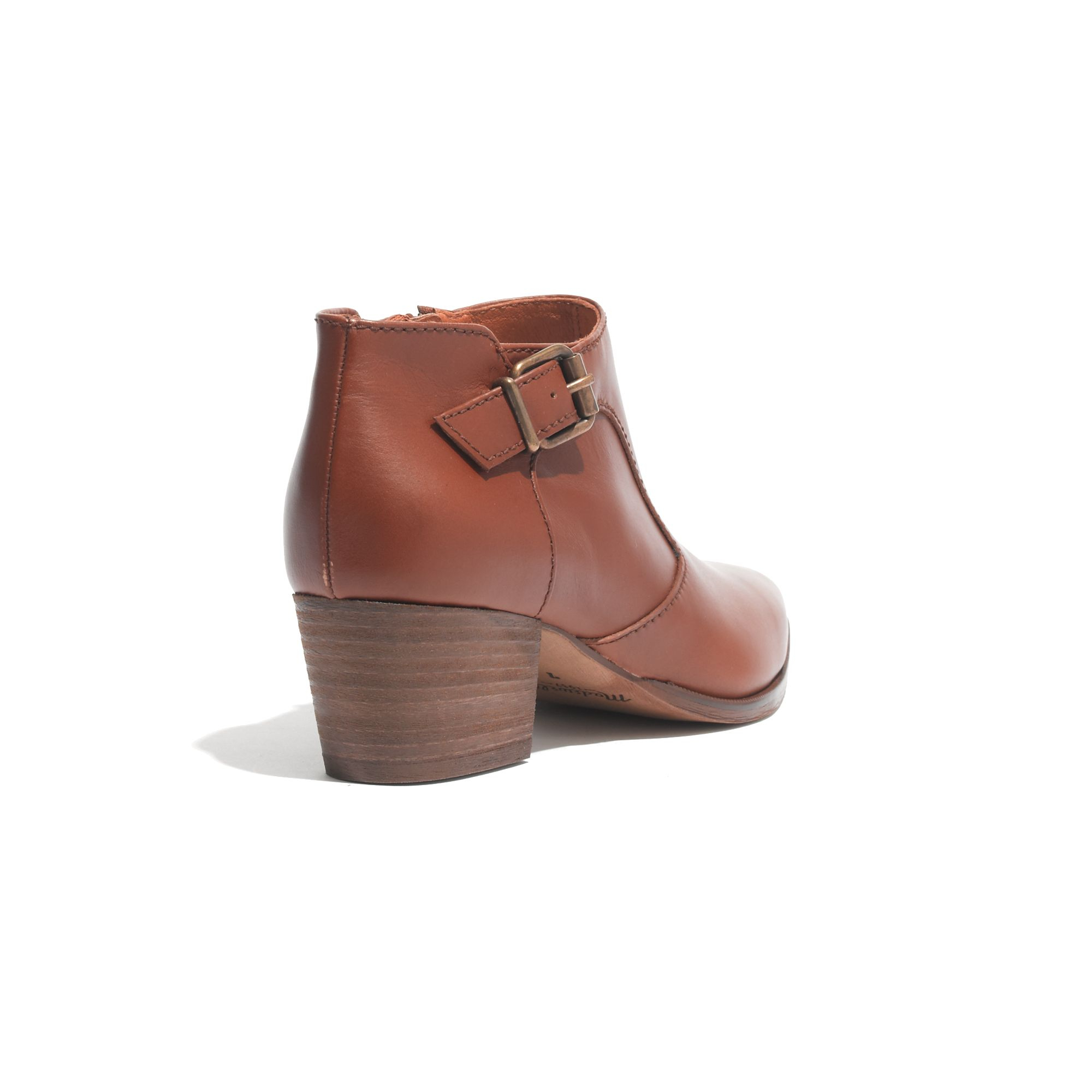 Madewell The Wes Boot in Brown
