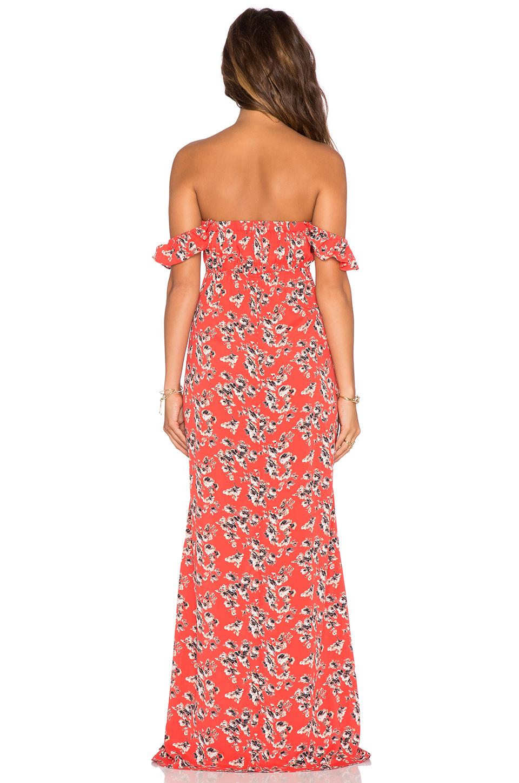 X revolve bardot maxi dress