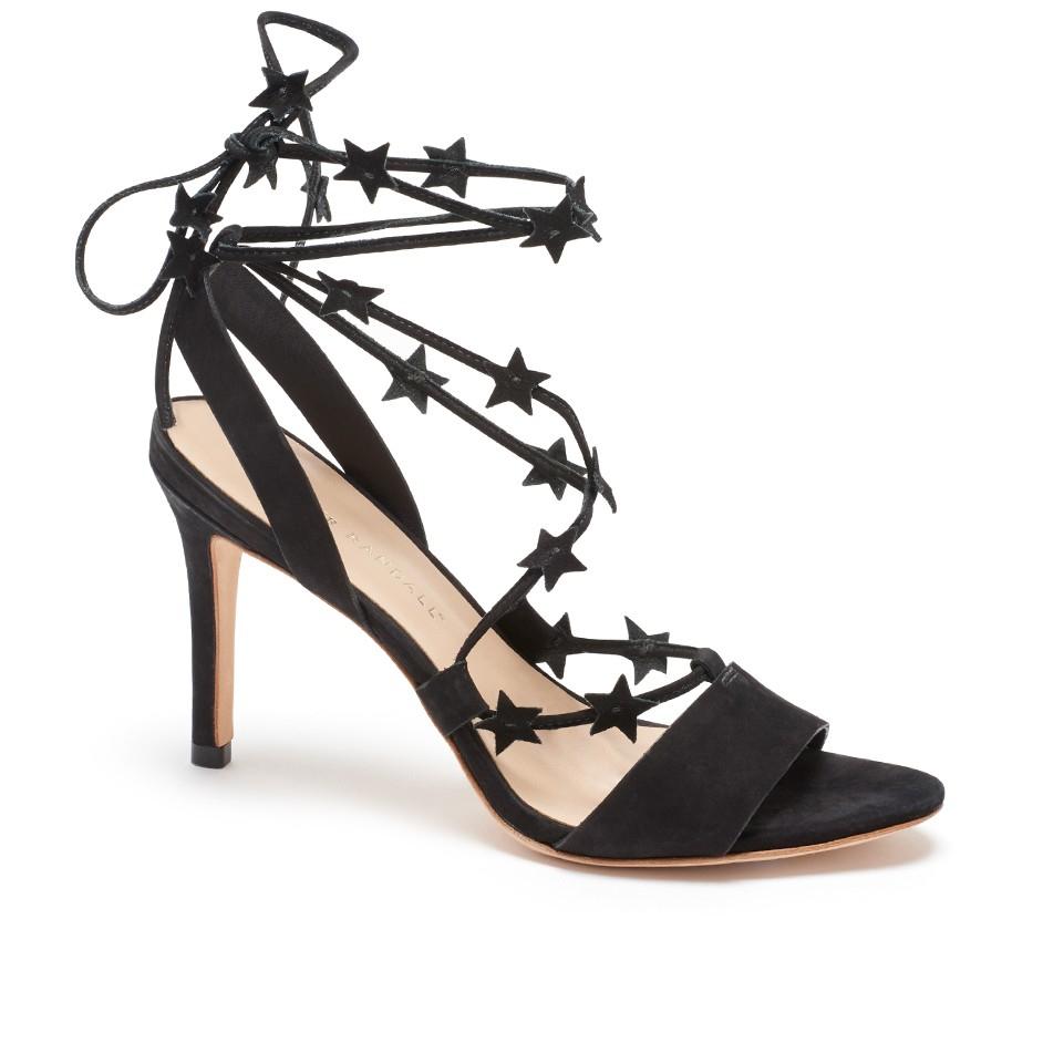 7dad3fe0a9b Lyst - Loeffler Randall Arielle Ankle Wrap Sandal in Black