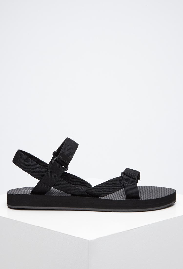 Read more Black Velcro Strap Sandals MmyOosBMyp