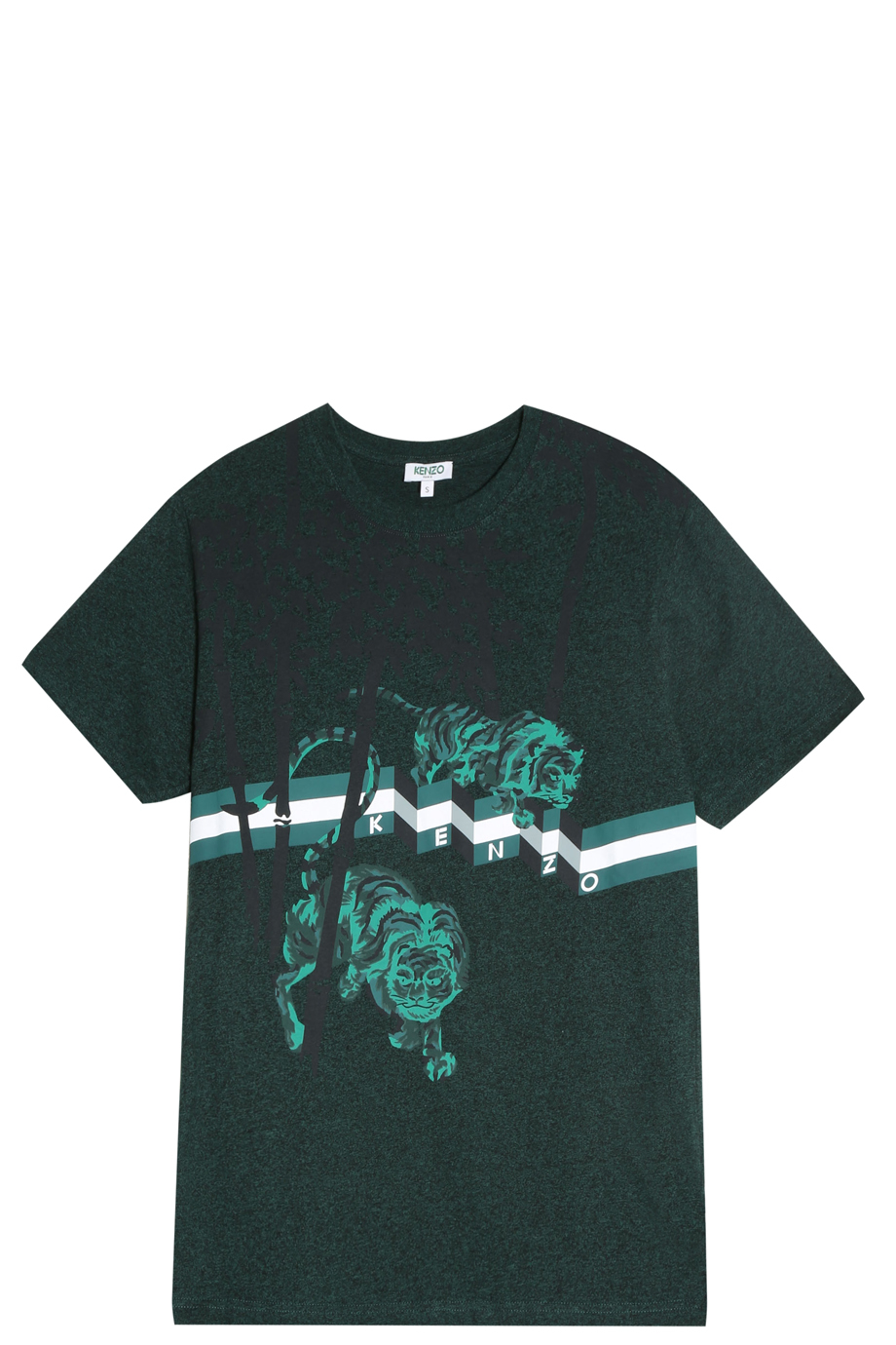 Kenzo Bamboo Tiger T Shirt In Green For Men Lyst