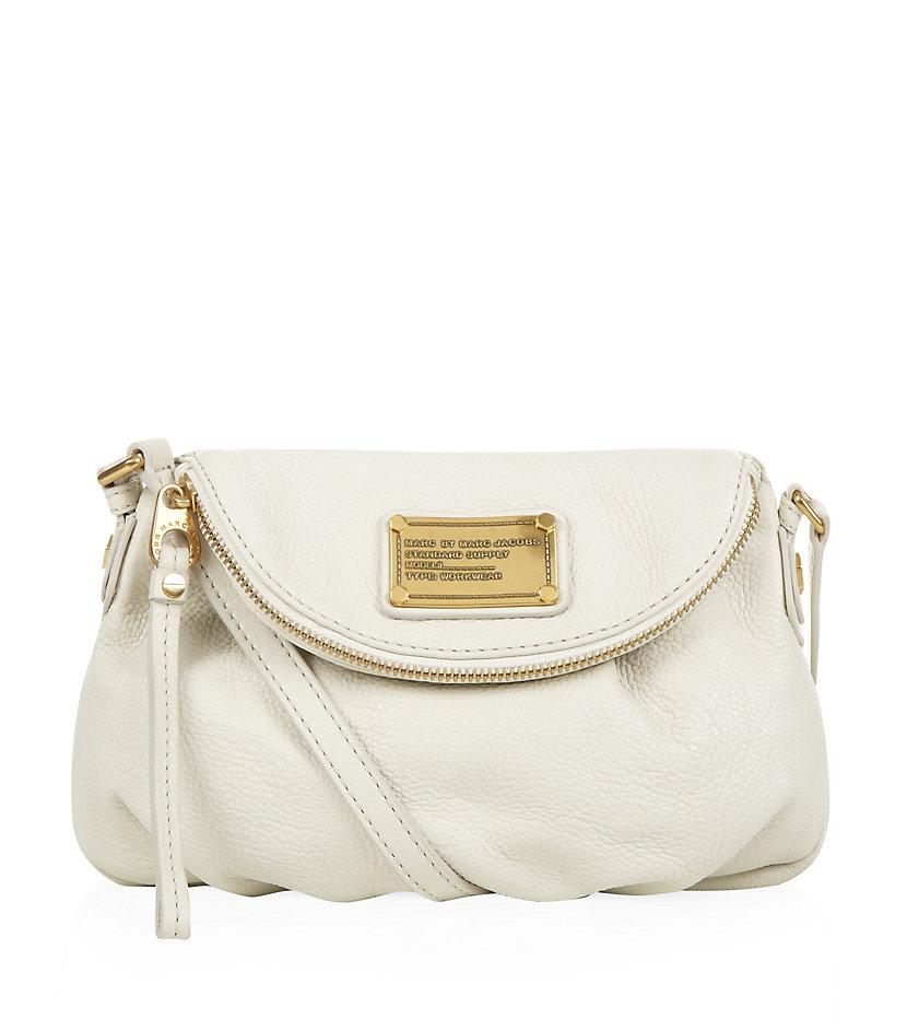 Marc By Marc Jacobs Classic Q Mini Natasha Crossbody Bag in White