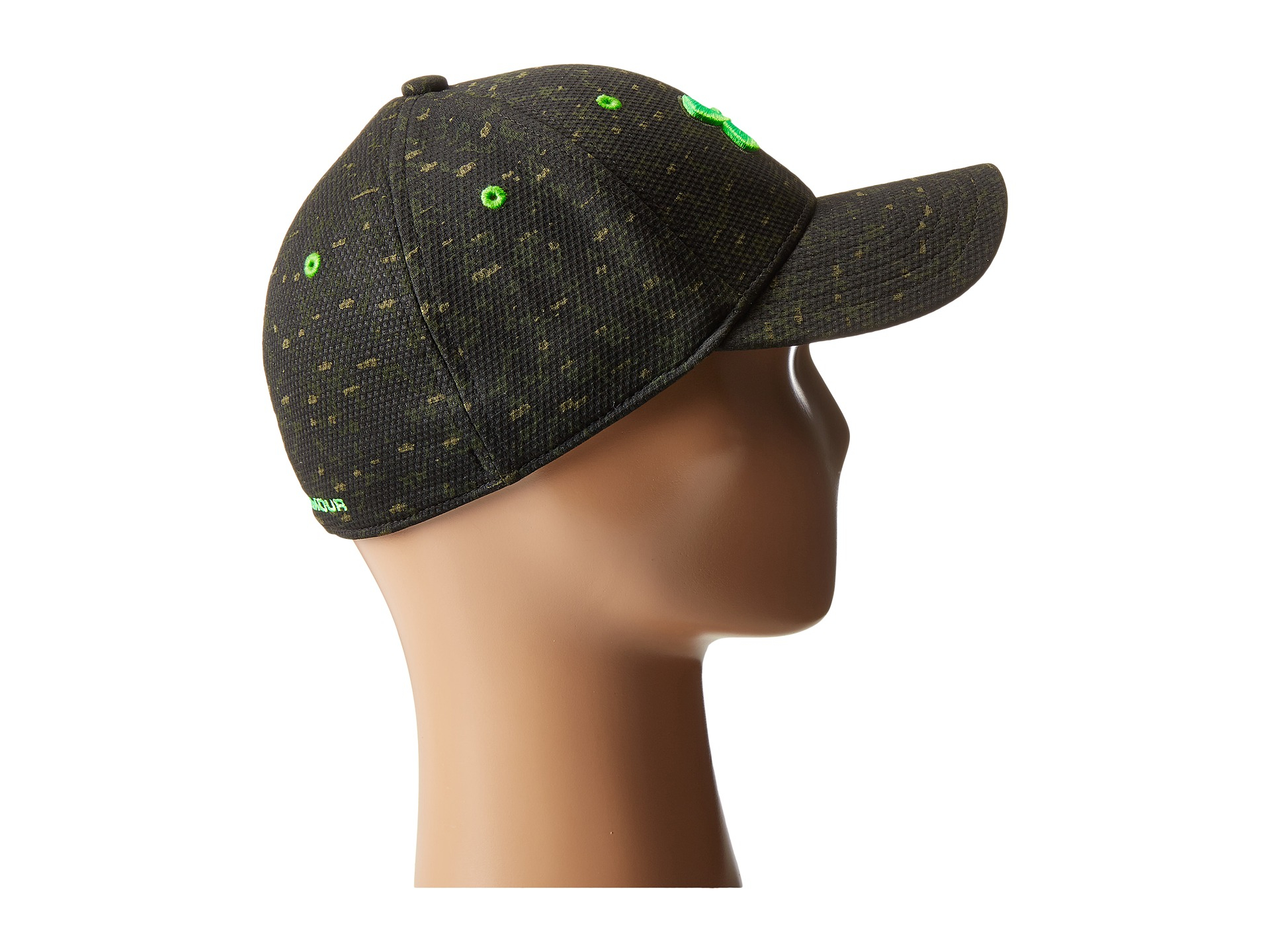 sports shoes c998d 6aa99 ... low cost lyst under armour ua printed blitzing cap youth in green for  men 50aca 6d6b4